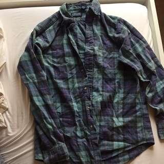 Brandy Melville Oversized Vintage Flannel