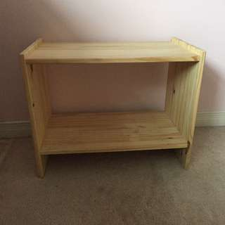 A Small Shelf, Shoe Stand / Plant Stand