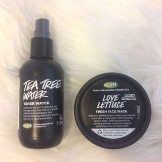 LUSH Tea Tree Water ONLY