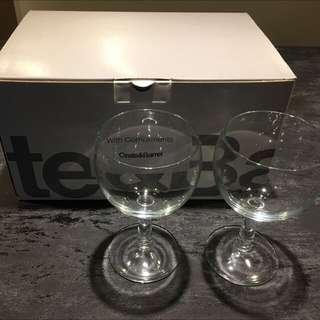 Crate & Barrel Zoom Wine Glasses