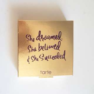 LIMITED EDITION Tarte She Dreamed She Believed She Succeeded Palette