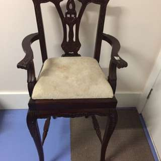 Antique Look High Chair