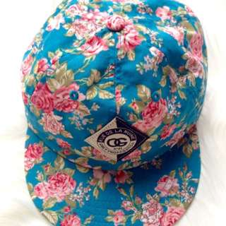Bright Floral Obey Hat