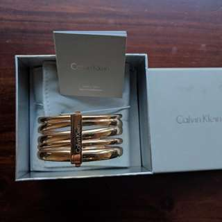 Calvin Klein Rose Gold Bangle
