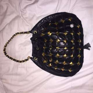 Vegan Pleather OBEY Chain Bag