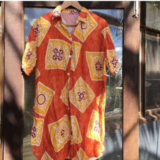 Vintage Batik Shirt