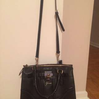 Guess Two Way Leather Bag