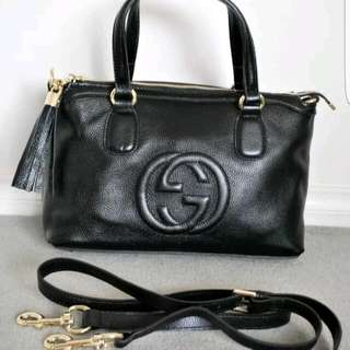 Gucci Soho Shoulder Or Crossbody As New