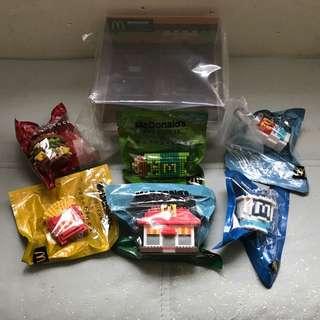 McDonald's FOOD ICONS x nanoblocks (Box set)