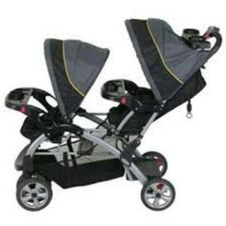 Twin Stroller (Sit N' Stand)