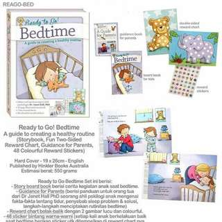 Ready to Go! Bedtime - A guide to creating a healthy routine (Storybook, Two-Sided Reward Chart, 48 Reward Stickers, Guidance for Parents)