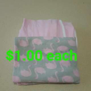 Girls Newborn Cotton Wraps
