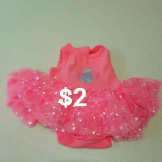Newborn baby Girl Tutu Dress 0000