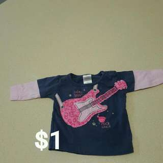 Newborn baby Girls Long Sleeve Top 0000