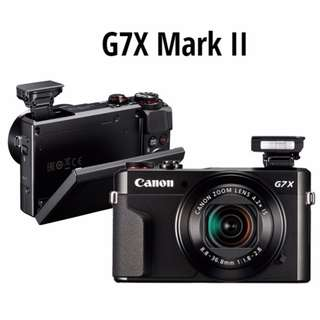 🛒Canon PowerShot G7X Mark II Camera