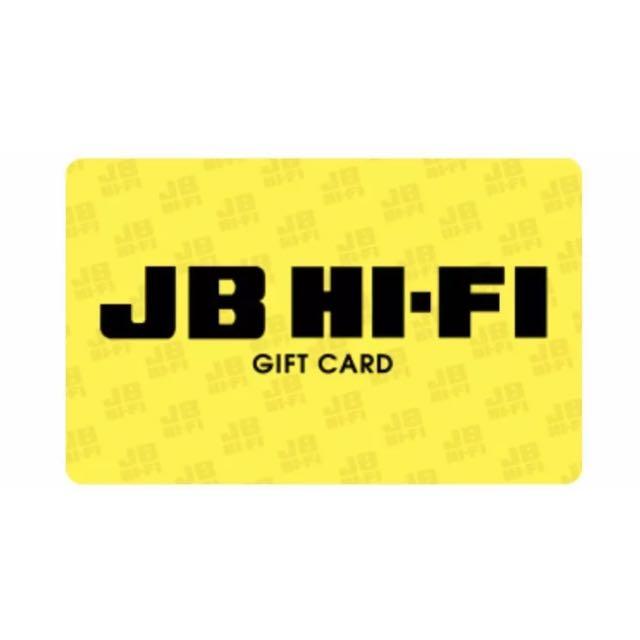 $100 JB HI FI Voucher