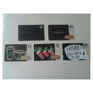 Starbucks Card Set