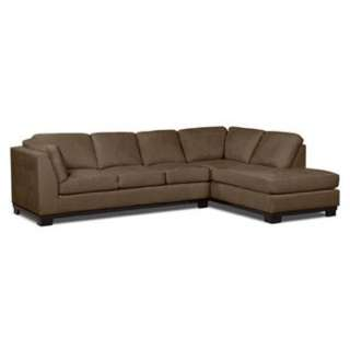 L-Shaped Chocolate Brown Couch From Leons (price Negotiable)