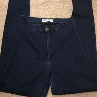 American Apparel Jeans + Blouse $20!