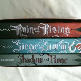 The Grisha Trilogy by Leigh Bardugo (special map included)