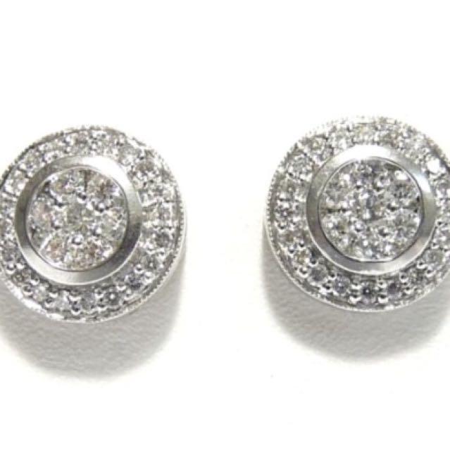 1.12cts Diamond Earring