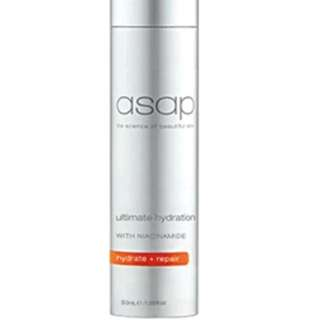 ASAP Ultimate Hydration 50ml New Moisturiser Anti Aging Hydrating Cream RRP $85 Authorised Stockist