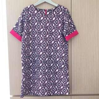 幾何圖紋洋裝