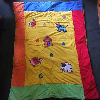 Colourful Cot Doona
