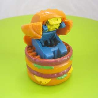 Rare Collectibles, Old McDonald's Corporation Toys, a Big Mac, a Transformer, a Robot, 1983 McDonald's Happy meal Toy, Limited Edition, For Collector