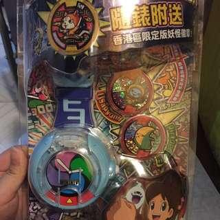 全新未開妖怪手錶U港版(佛誕特價)