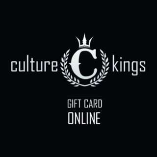 Culture Kings Gift Card $100