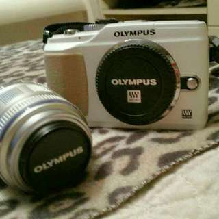 Olympus Epl2 Professional Camera With JVC bag