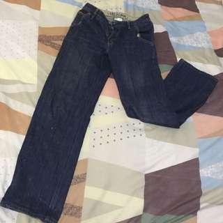 Gap Denim (Maong) Pants Loose Fit Size 14