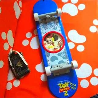 迪士尼~玩具總動員翠絲壁鐘