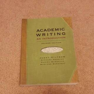 Academic Writing An Introduction