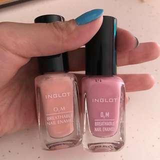 Inglot Breathable Nail Polish
