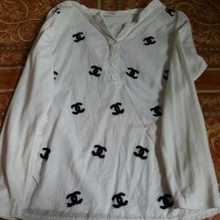 Cotton White Long Sleeve