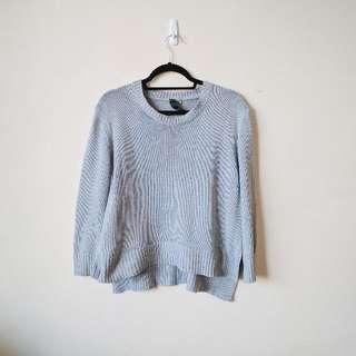 Factorie Grey Knit Jumper M