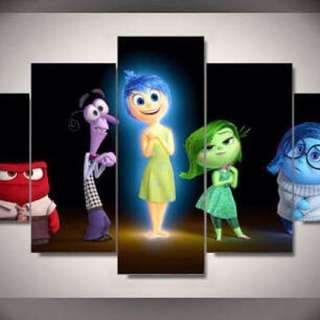 Inside Out HD Print Wall Art On Canvas