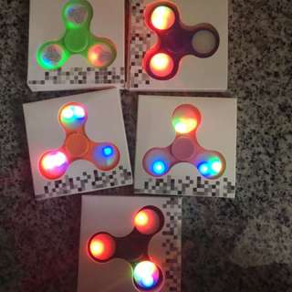 Promo! Lights Fidget Spinner
