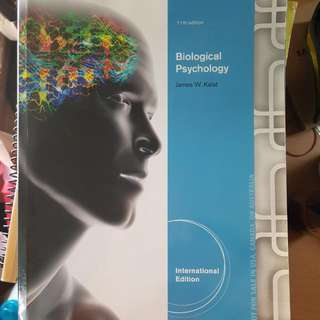 HP2200 BIOLOGICAL PSYCHOLOGY 11e. PLASTIC WRAPPED (Cheatsheet+Study Notes At $10)