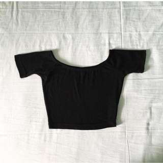 Cotton On Ribbed Off-Shoulder