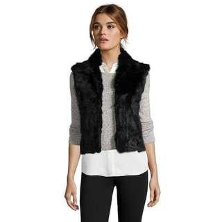 Looking For Black Fur Vest