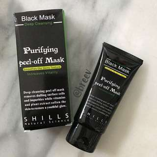 SHILLS black Peel-Off Mask