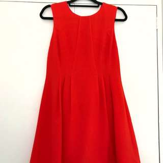 Ditto Burnt Orange Dress S10
