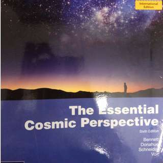NTU EE8086 Astronomy Textbook - The essential cosmic perspective + question bank + past year paper