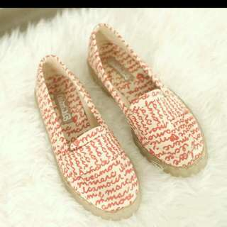 RED WORDS LOAFER