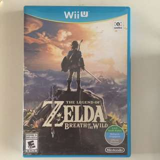 WII U The Legend Of Zelda, Breath Of The Wild