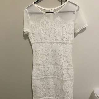 Morning Mist Size 8 Dress
