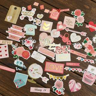 Die Cut Set F (Happy Valentines) Out of stock